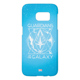 Guardians of the Galaxy | Galactic Logo Badge Samsung Galaxy S7 Case