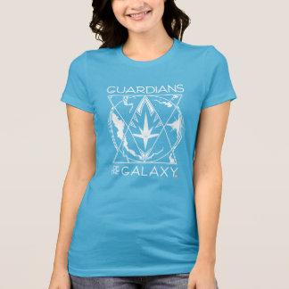 Guardians of the Galaxy   Galactic Logo Badge T-Shirt