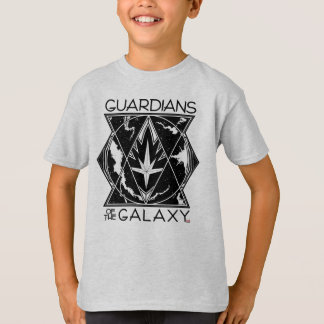 Guardians of the Galaxy | Galactic Logo Badge T-Shirt