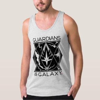 Guardians of the Galaxy | Galactic Logo Badge Tank Top