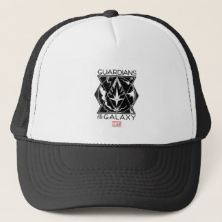 Guardians of the Galaxy   Galactic Logo Badge Trucker Hat