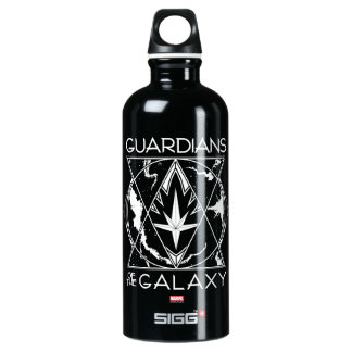 Guardians of the Galaxy | Galactic Logo Badge Water Bottle