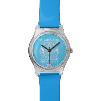 Guardians of the Galaxy | Galactic Logo Badge Wrist Watch