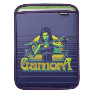 Guardians of the Galaxy | Gamora Cartoon Badge iPad Sleeve
