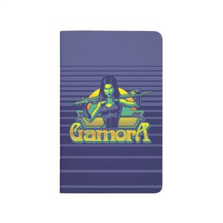 Guardians of the Galaxy | Gamora Cartoon Badge Journal