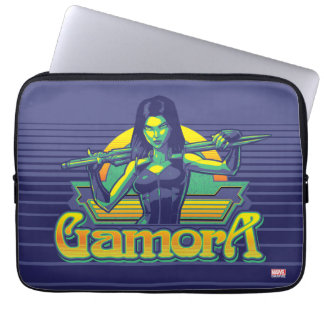 Guardians of the Galaxy | Gamora Cartoon Badge Laptop Sleeve