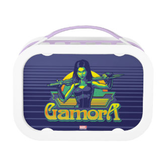 Guardians of the Galaxy | Gamora Cartoon Badge Lunch Box