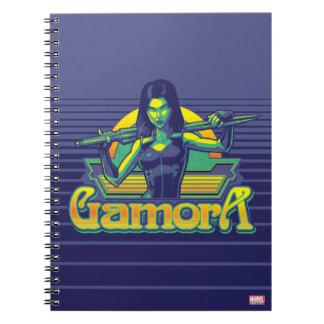 Guardians of the Galaxy | Gamora Cartoon Badge Notebooks