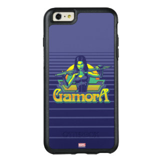 Guardians of the Galaxy | Gamora Cartoon Badge OtterBox iPhone 6/6s Plus Case