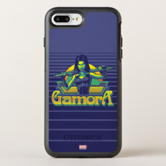 Guardians of the Galaxy | Gamora Cartoon Badge OtterBox Symmetry iPhone 8 Plus/7 Plus Case