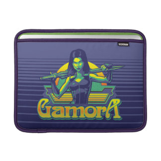 Guardians of the Galaxy | Gamora Cartoon Badge Sleeve For MacBook Air