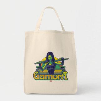 Guardians of the Galaxy | Gamora Cartoon Badge Tote Bag