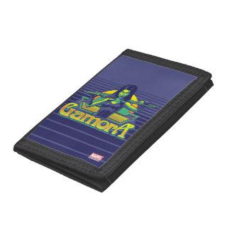 Guardians of the Galaxy | Gamora Cartoon Badge Tri-fold Wallet
