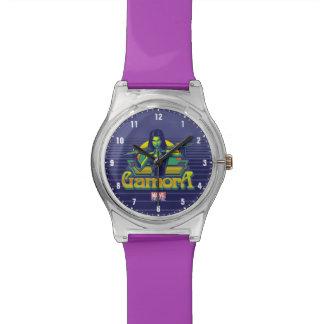 Guardians of the Galaxy   Gamora Cartoon Badge Watch