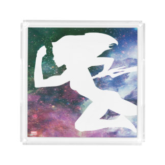 Guardians of the Galaxy | Gamora Galaxy Cutout Acrylic Tray
