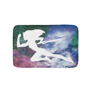 Guardians of the Galaxy | Gamora Galaxy Cutout Bath Mat