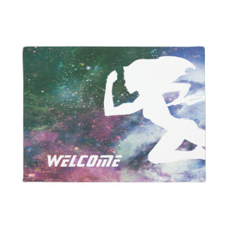 Guardians of the Galaxy | Gamora Galaxy Cutout Doormat