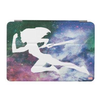 Guardians of the Galaxy   Gamora Galaxy Cutout iPad Mini Cover