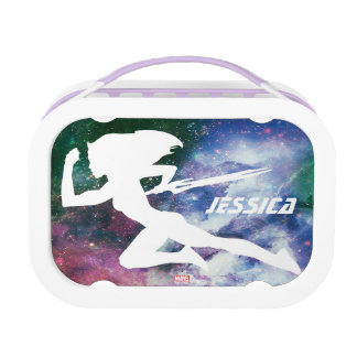 Guardians of the Galaxy | Gamora Galaxy Cutout Lunch Box