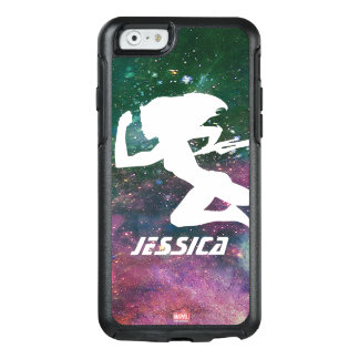 Guardians of the Galaxy | Gamora Galaxy Cutout OtterBox iPhone 6/6s Case