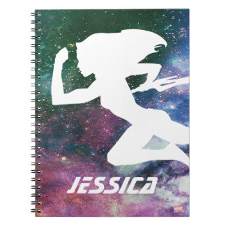 Guardians of the Galaxy | Gamora Galaxy Cutout Spiral Notebook