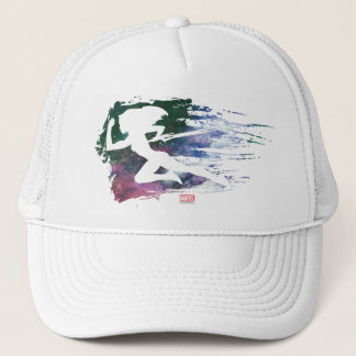 Guardians of the Galaxy | Gamora Galaxy Cutout Trucker Hat