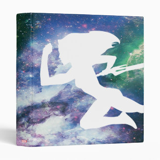 Guardians of the Galaxy | Gamora Galaxy Cutout Vinyl Binders
