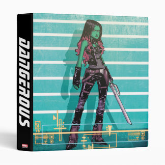 Guardians of the Galaxy | Gamora Mugshot 3 Ring Binder
