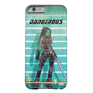 Guardians of the Galaxy | Gamora Mugshot Barely There iPhone 6 Case