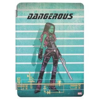 Guardians of the Galaxy | Gamora Mugshot iPad Air Cover