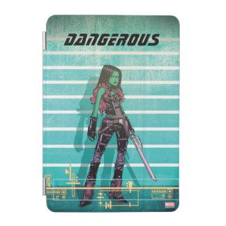 Guardians of the Galaxy   Gamora Mugshot iPad Mini Cover