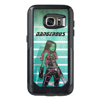Guardians of the Galaxy | Gamora Mugshot OtterBox Samsung Galaxy S7 Case