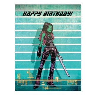 Guardians of the Galaxy | Gamora Mugshot Postcard