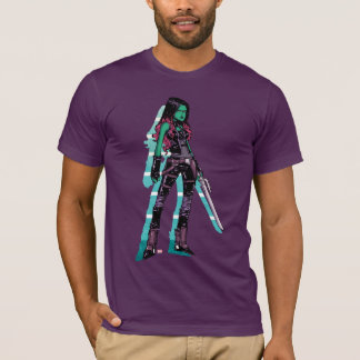 Guardians of the Galaxy | Gamora Mugshot T-Shirt