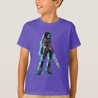 Guardians of the Galaxy | Gamora Mugshot T-Shirt