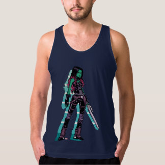 Guardians of the Galaxy | Gamora Mugshot Tank Top