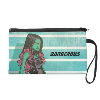 Guardians of the Galaxy | Gamora Mugshot Wristlet Clutch