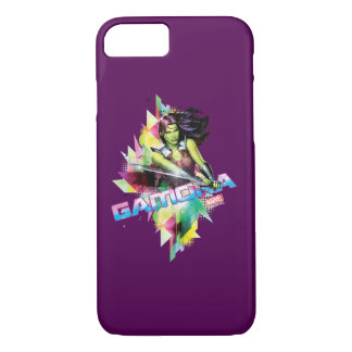 Guardians of the Galaxy | Gamora Neon Graphic iPhone 8/7 Case