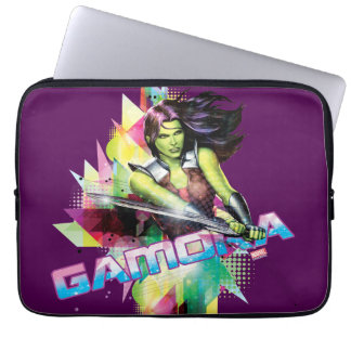 Guardians of the Galaxy | Gamora Neon Graphic Laptop Sleeve