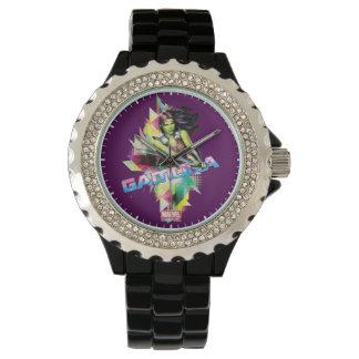 Guardians of the Galaxy | Gamora Neon Graphic Wrist Watch