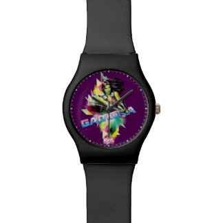 Guardians of the Galaxy | Gamora Neon Graphic Wristwatches