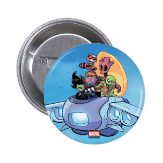 Guardians of the Galaxy | Gamora Pilots Ship 2 Inch Round Button