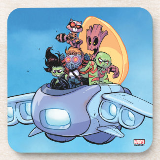 Guardians of the Galaxy | Gamora Pilots Ship Drink Coasters