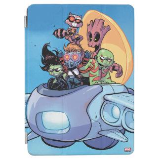 Guardians of the Galaxy | Gamora Pilots Ship iPad Air Cover