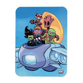 Guardians of the Galaxy   Gamora Pilots Ship Magnet