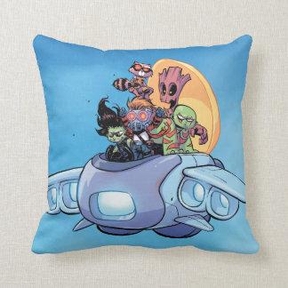 Guardians of the Galaxy | Gamora Pilots Ship Throw Pillow