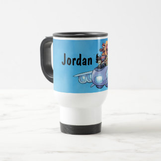 Guardians of the Galaxy | Gamora Pilots Ship Travel Mug