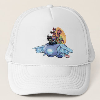 Guardians of the Galaxy | Gamora Pilots Ship Trucker Hat