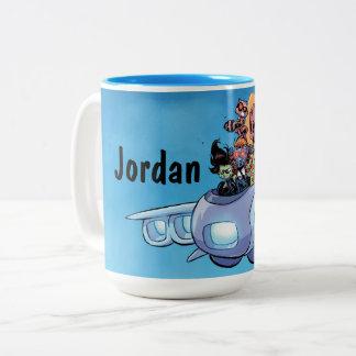 Guardians of the Galaxy   Gamora Pilots Ship Two-Tone Coffee Mug