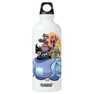 Guardians of the Galaxy | Gamora Pilots Ship Water Bottle